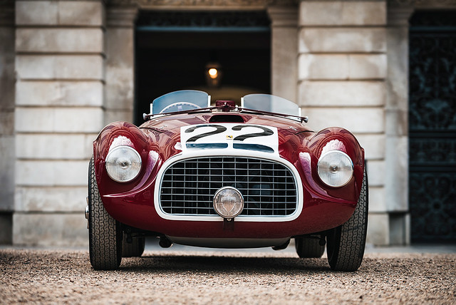 1949 Ferrari 166MM Touring Barchetta at the 2019 Concours of Elegance at Hampton Court Palace