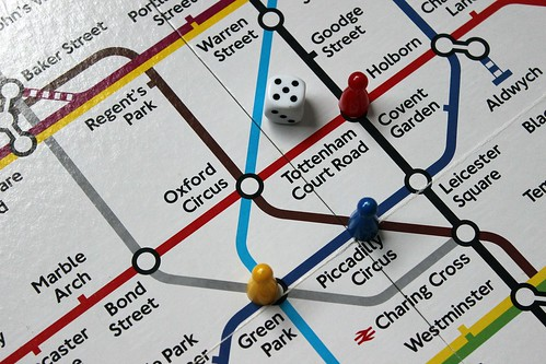Tube map of London. From How to Save Money and Time: Expert Shares Top Travel Planning Tips