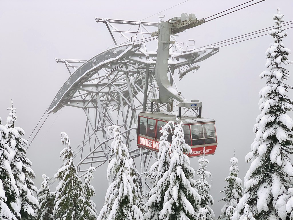 Grouse Mountain Skyride - best places to visit in Canada
