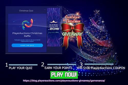 Christmas Countdown_Gamenanza_Playerauctions Giveaway