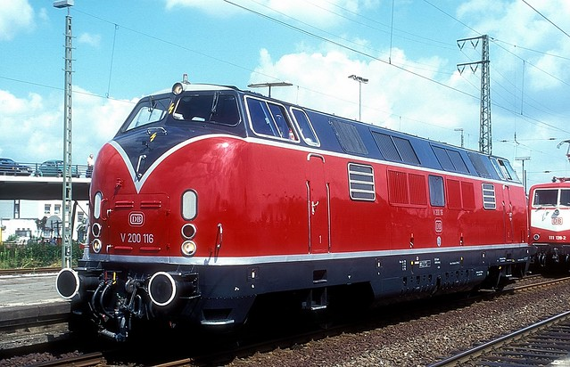 V200 116  Oberhausen  26.07.97