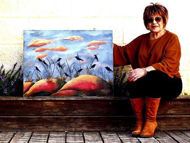פרידה פירו Frida  piro הציירת האמנית הישראלית העכשווית המודרנית הריאליסטית הירושלמית ציורי נופים דיוקן