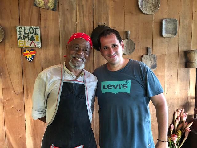Sele con Joao Carlos Silva (Roça Sao Joao, Santo Tomé y Príncipe)
