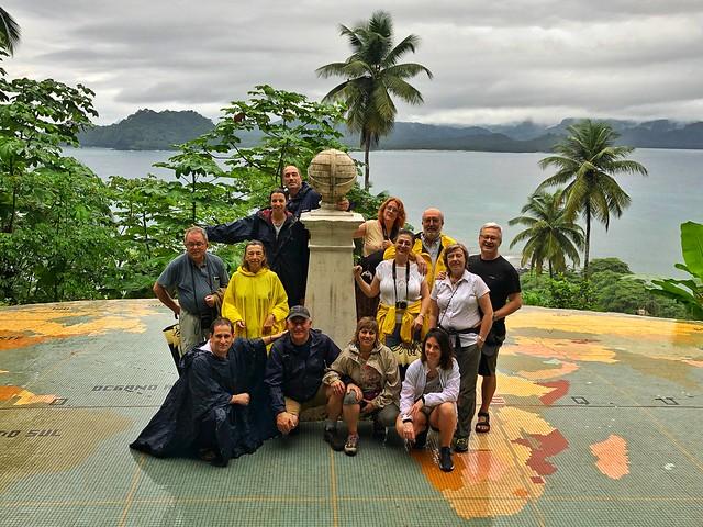 Equipo del viaje de autor a Santo Tomé y Príncipe de diciembre de 2019