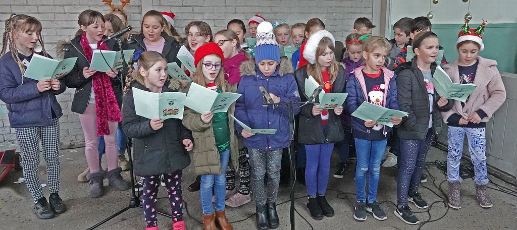 School Choir at Christmas
