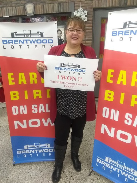 Cari May won a 3 pack of Brentwood Lottery XXVIII tickets in the Early Bird draw.