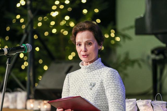 """13.12.2019. Andra Levites kundze piedalās nodibinājuma """"Viduslatgales pārnovadu fonds"""" rīkotajās Latgales Lūgšanu brokastīs"""