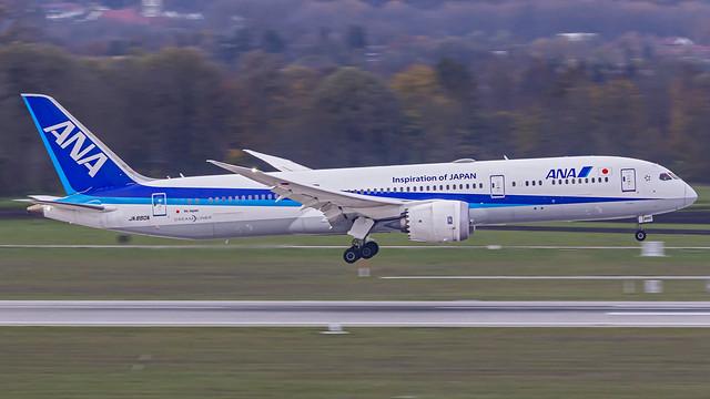 All Nippon Airways (ANA) Boeing B787-9 Dreamliner JA880A Munich (MUC/EDDM)