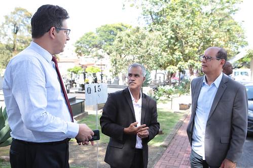 Visita Técnica para verificar as condições estruturais e funcionais dos seguintes cemitérios públicos: Saudade e Consolação - Comissão Parlamentar de Inquérito