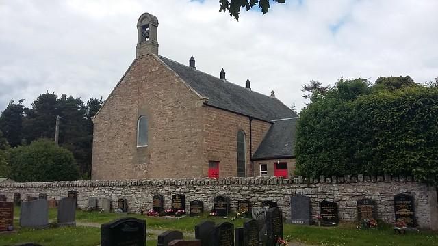 Petty Church, Inverness, July 2019