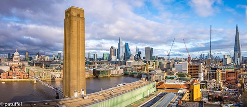 london city cityscape panorama pano shard stpaul pauls saint st paul millenium bridge modern tate gallery museum 28mm m10 leica great britain england