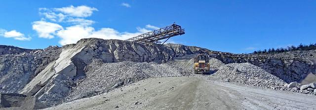 Aggregate Work Craignelow Quarry