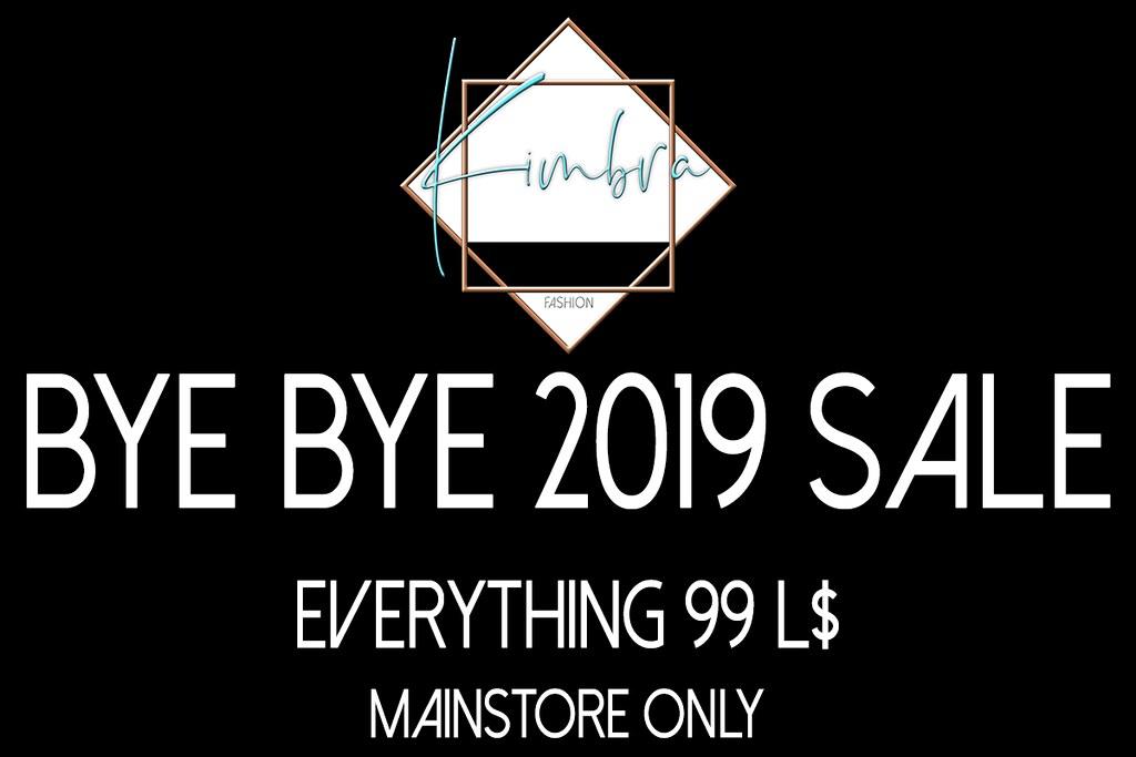 .KIMBRA. – 'BYE BYE 2019' SALE