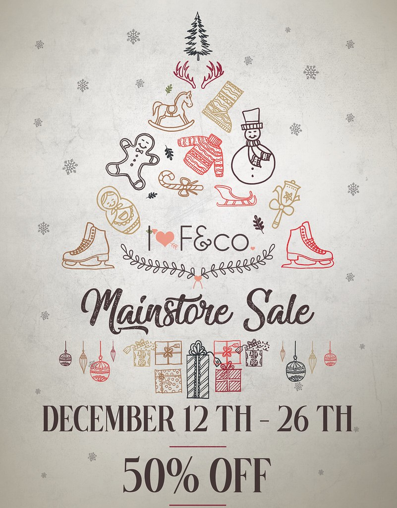 Christmas Mainstore Sale!