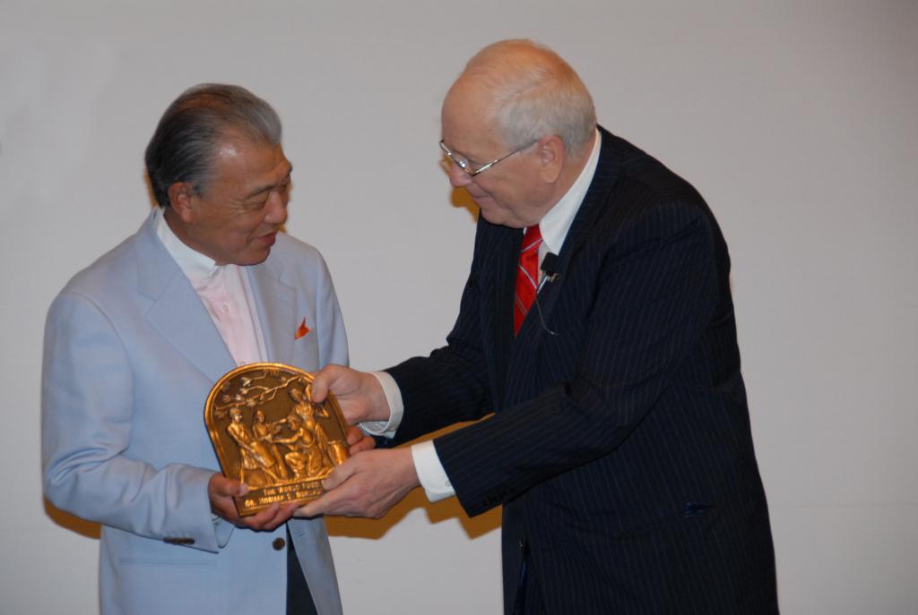 Japanese Medallion Presentation in 2010