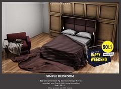 {YD} Simple Bedroom