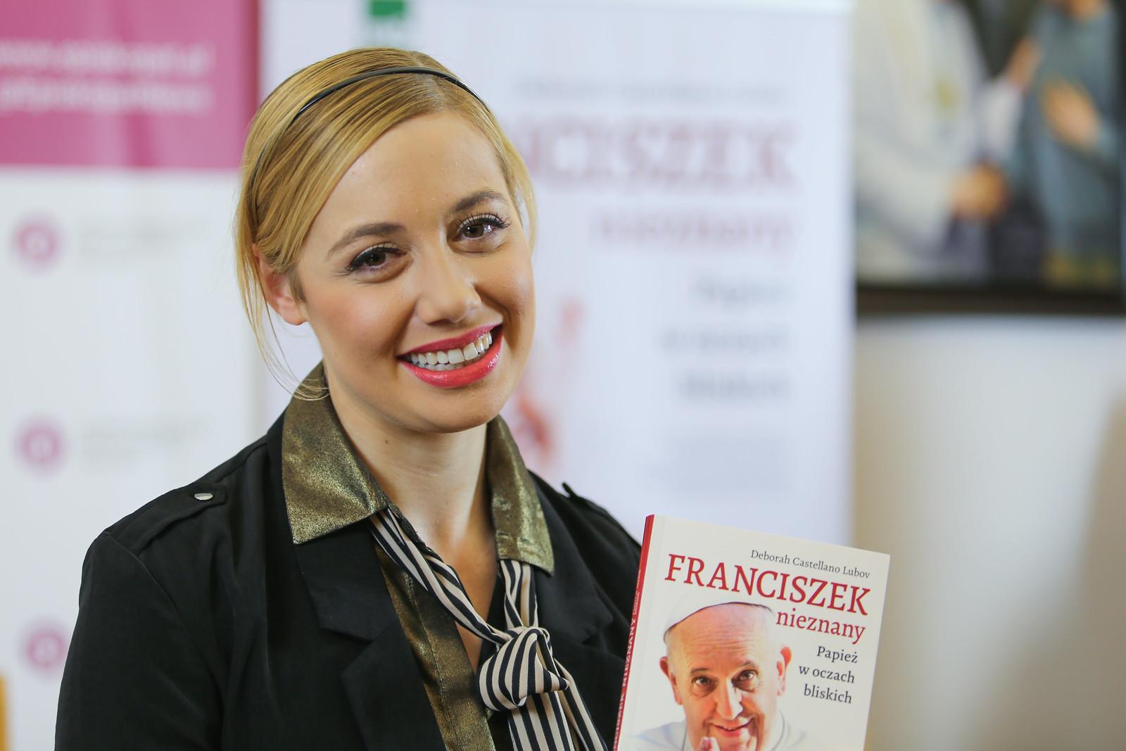 Prezentacja książki - Deborah Lubov - Franciszek nieznany - 13 XII 2019 r.
