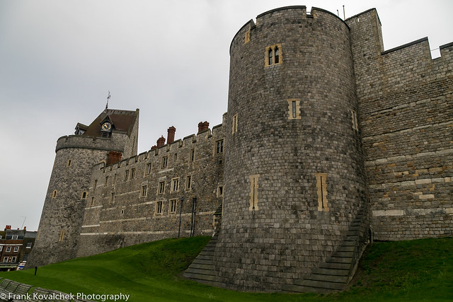Exterior of Windsor Castle