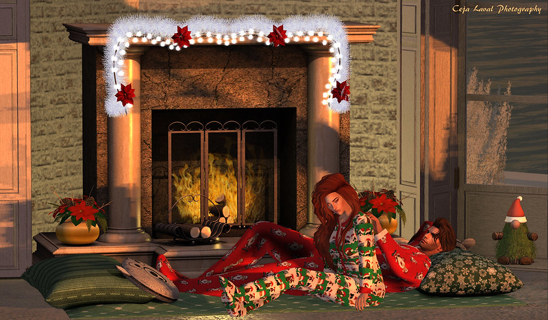 A moment by the fire