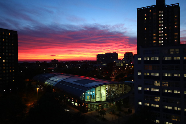 Somerstown Sunset, Portsmouth, October 23rd 2018