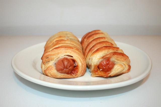 Hot Dog Roll - Seitenansicht