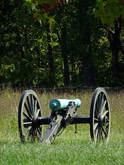 Historic guns on the Battlefield