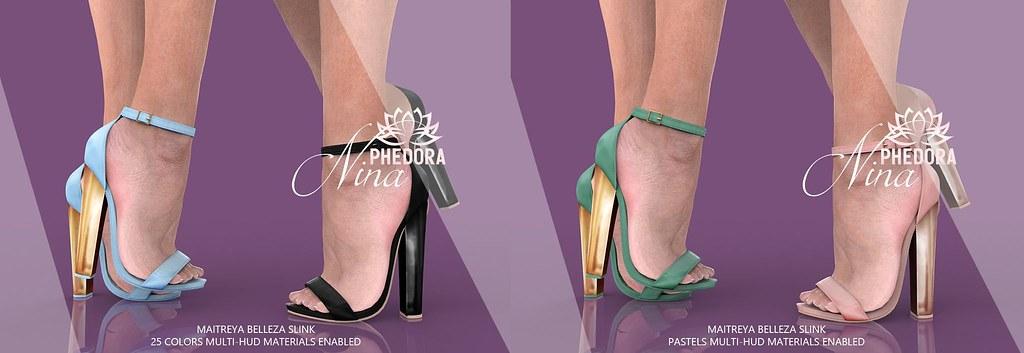 """Phedora – """"Nina"""" Heels  @ equal10"""