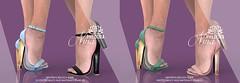 """Phedora - """"Nina"""" Heels  @ equal10"""