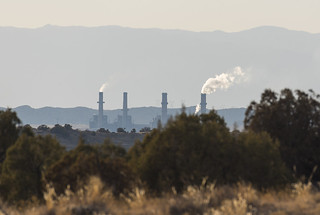 San Juan Generating Station, a coal-fired power plant in the Four Corners region of New Mexico.