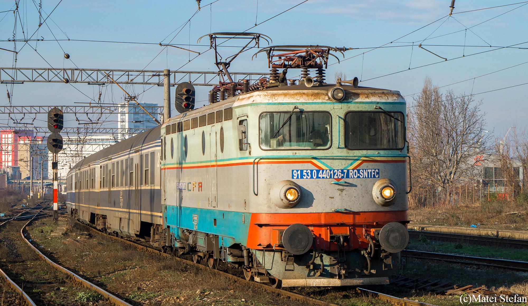 EC1 44 0126-7: CFR Călători