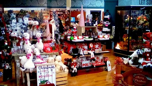 Holiday items display! Menominee Michigan