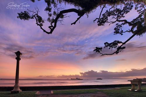 sunrise sun cloud longexposure ndfilter seascape sea water waterscape seaside coast dumaguete negrosoriental centralvisayas philippines landscape sky