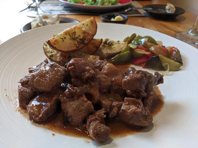 guanaco stew @ Bahía Mansa