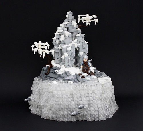 """""""Ruins of the past"""" complete moc"""