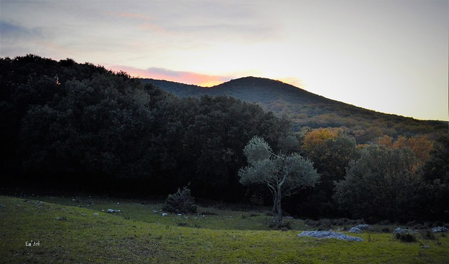 Ciel et paysage du Gard