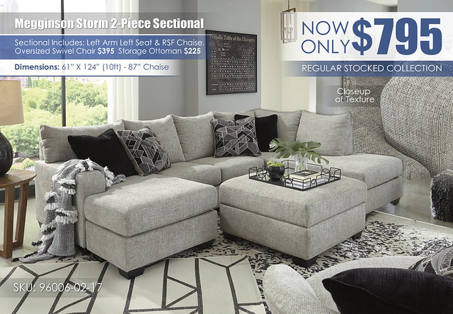 Megginson Storm 2-PC Sectional_96006-11