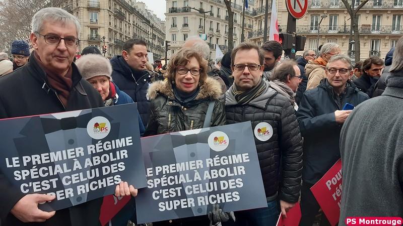 Manifestation pour une juste retraite - 5 décembre 2019