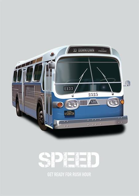 Speed - Alternative Movie Poster
