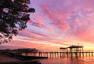 Sunset in Pt. Clear, AL.  One of my entries in the Eastern Shore Camera Club photo share December, 2019 themed Members Choice.