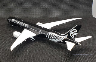 Air New Zealand B787-900, ZK-NZE.  All Blacks livery, 1.400 scale by NG Models. | by dc10forlife