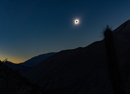 Solar Eclipse over Paihuano by Rumaan Malhotra