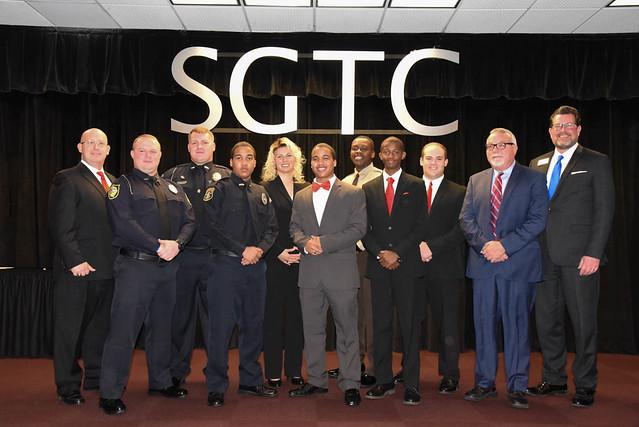 SGTC Law Enforcement Academy Class 19-02 Graduation