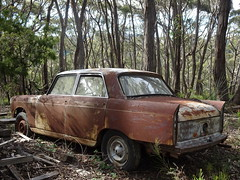 Rusted Peugeot