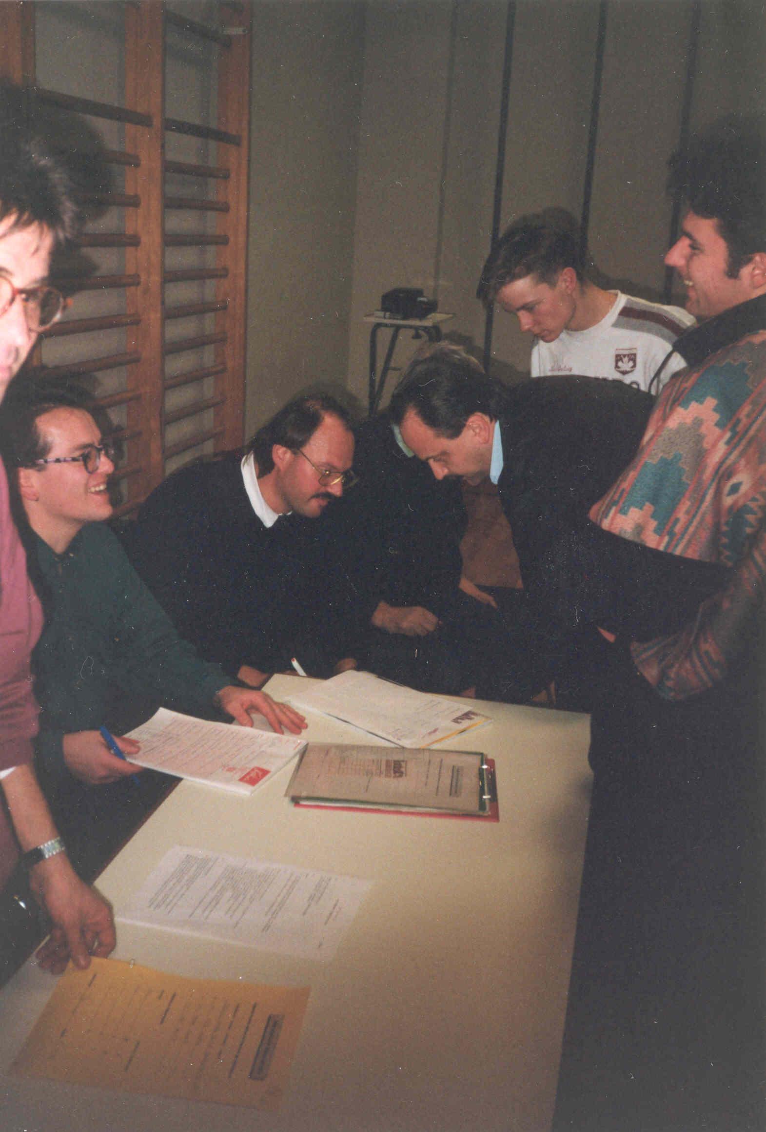 Gründungsversammlung 1993