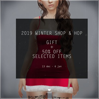 Pixicat Sale - Winter Shop & Hop