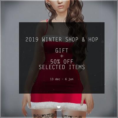 Pixicat Sale - Winter Shop & Hop