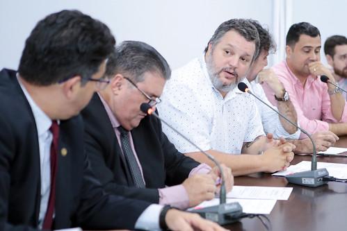 1ª Reunião - Comissão Parlamentar de Inquérito: Débitos do Município com a Construtora Andrade Gutierrez