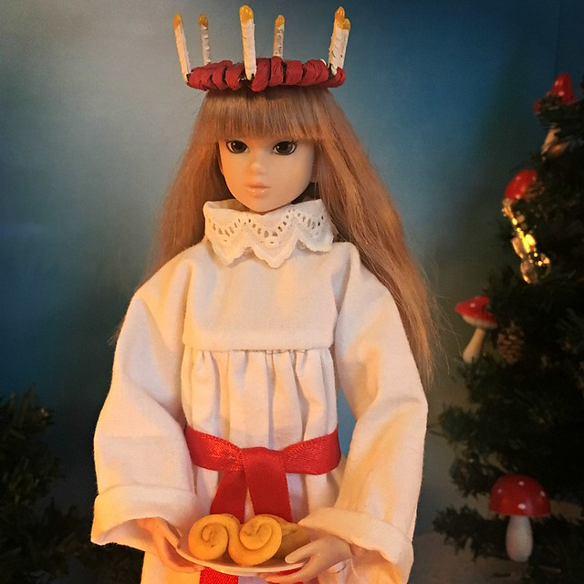 On December 13 we celebrate Santa Lucia in Sweden