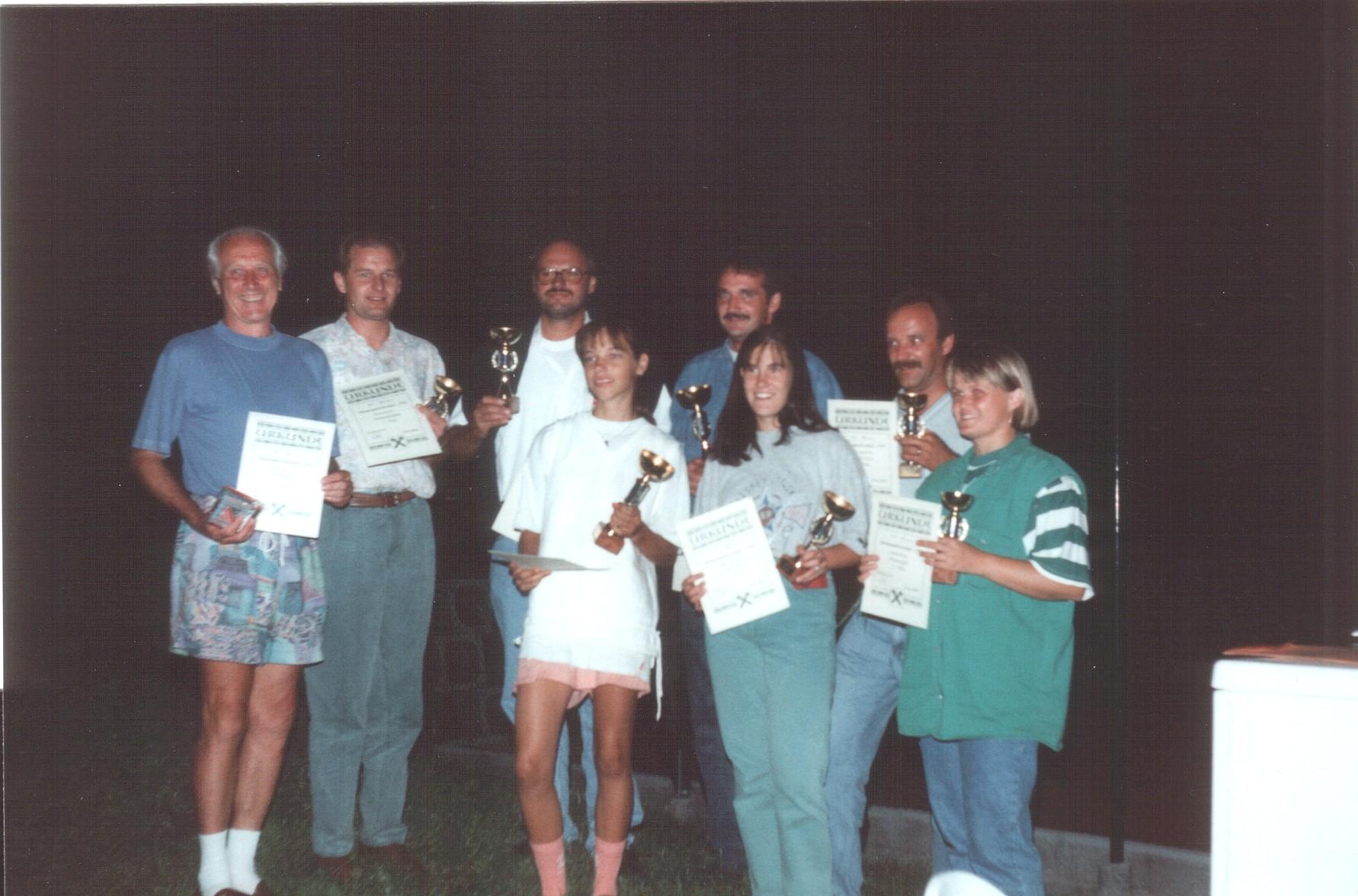 Vereinsmeisterschaft 1994