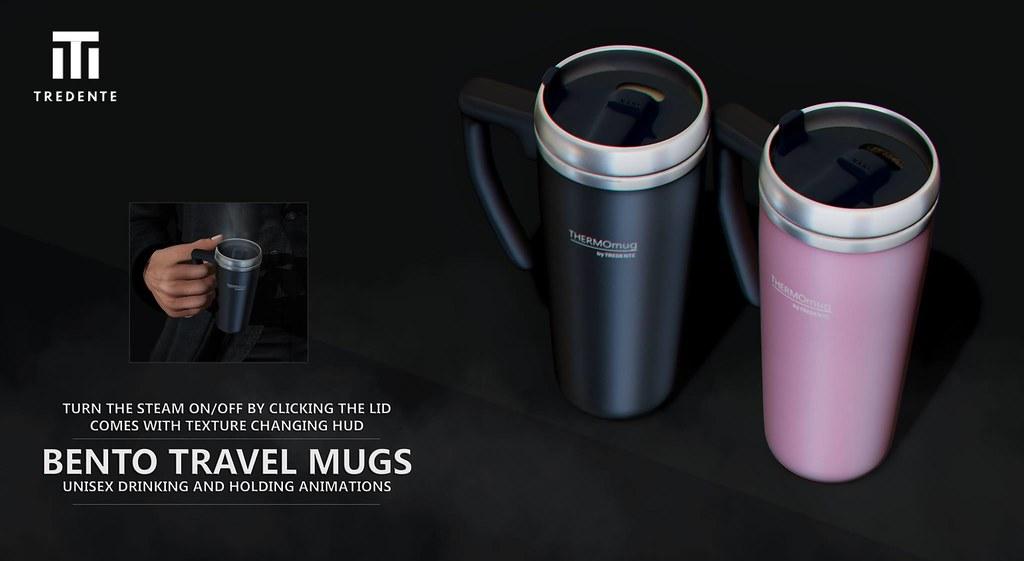 Tredente – Bento Travel Mugs   @ equal10